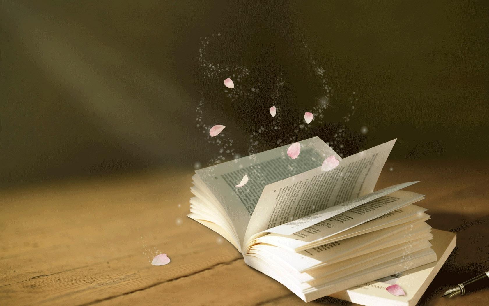 beautiful book wallpaper 22137