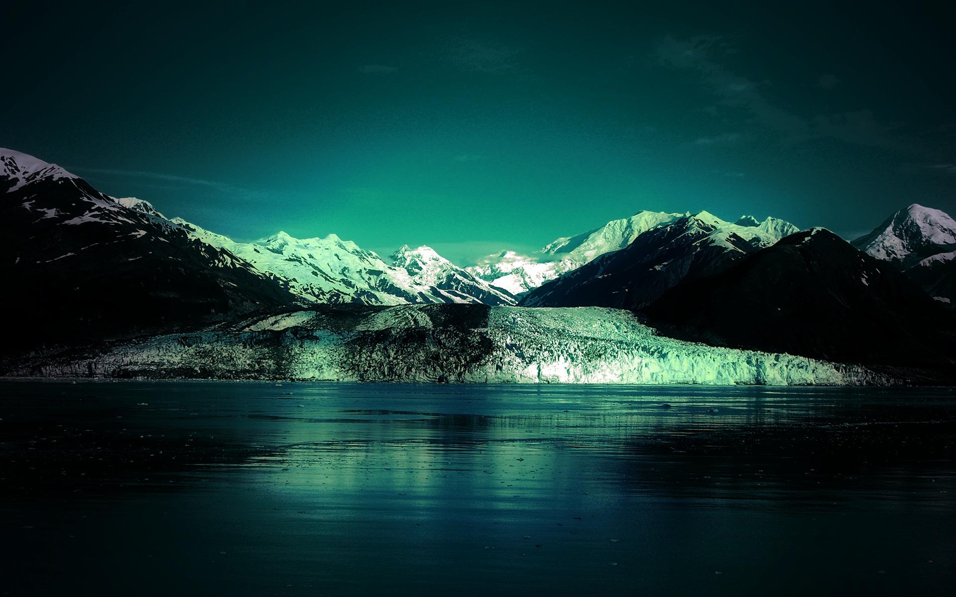 beautiful glacier 17197