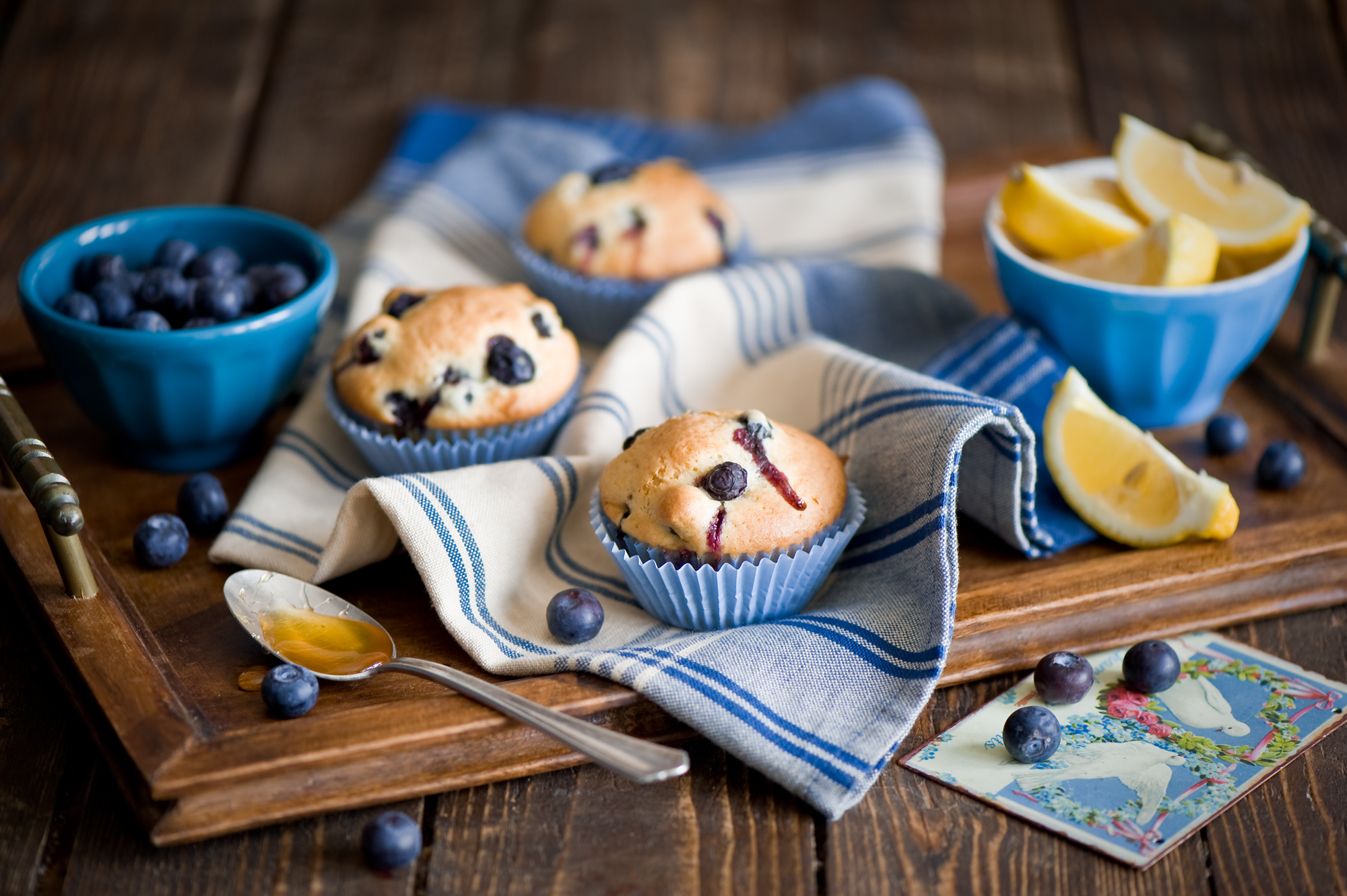 blueberry muffins wallpaper 20403