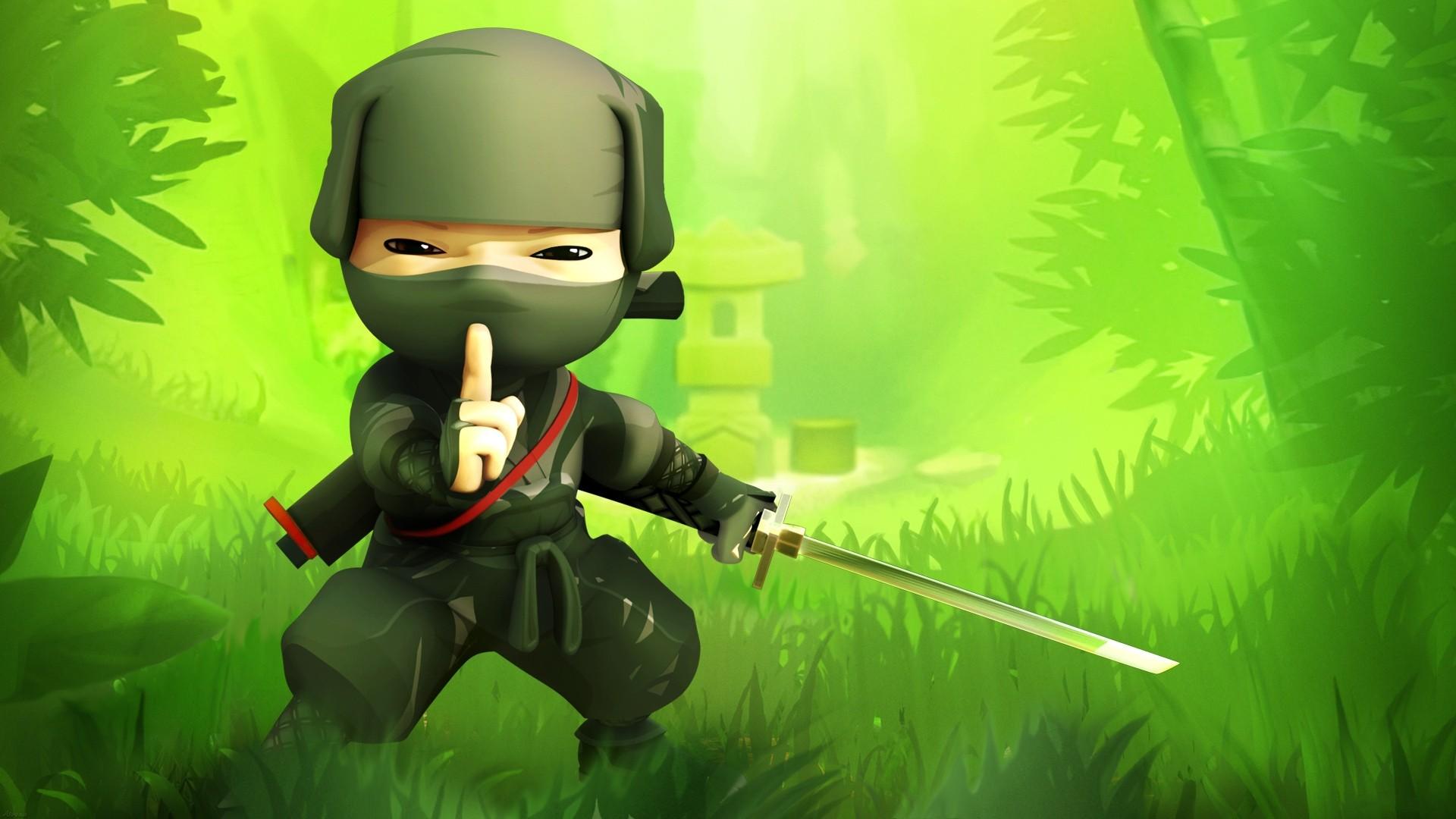 Cartoon Ninja Wallpaper 23854 1920x1080 px HDWallSourcecom
