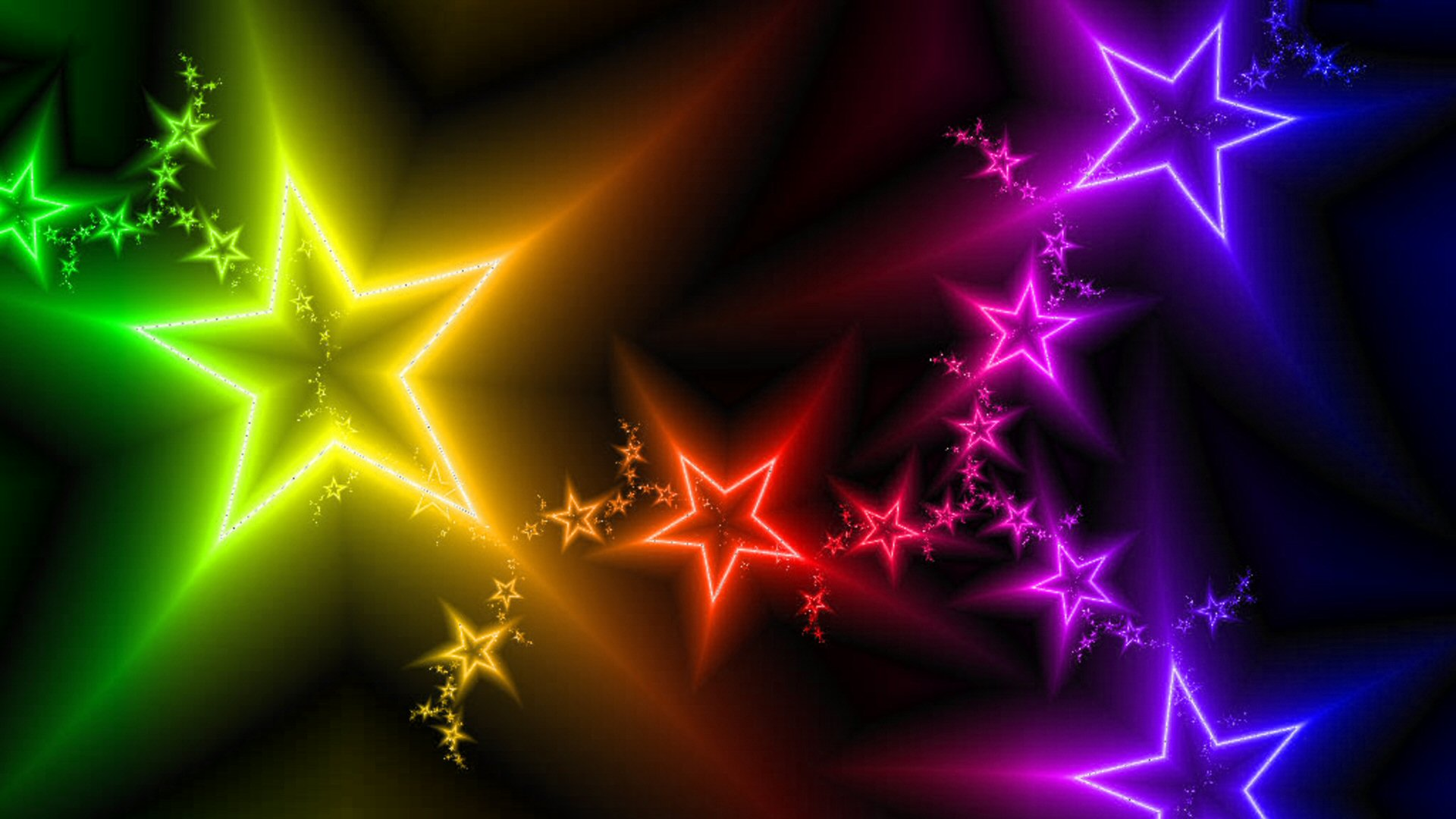 Download Colorful Star Background 19046 1920x1080 px High ...
