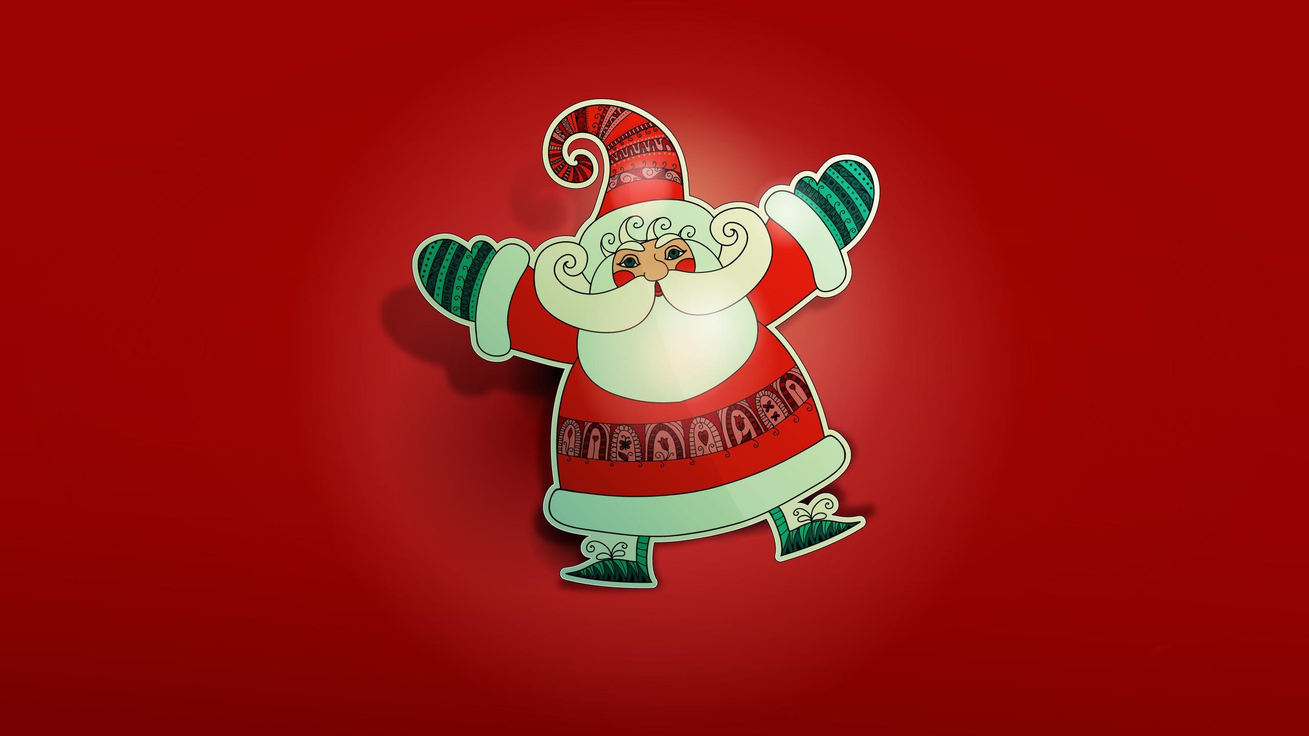 cute santa wallpaper 16178