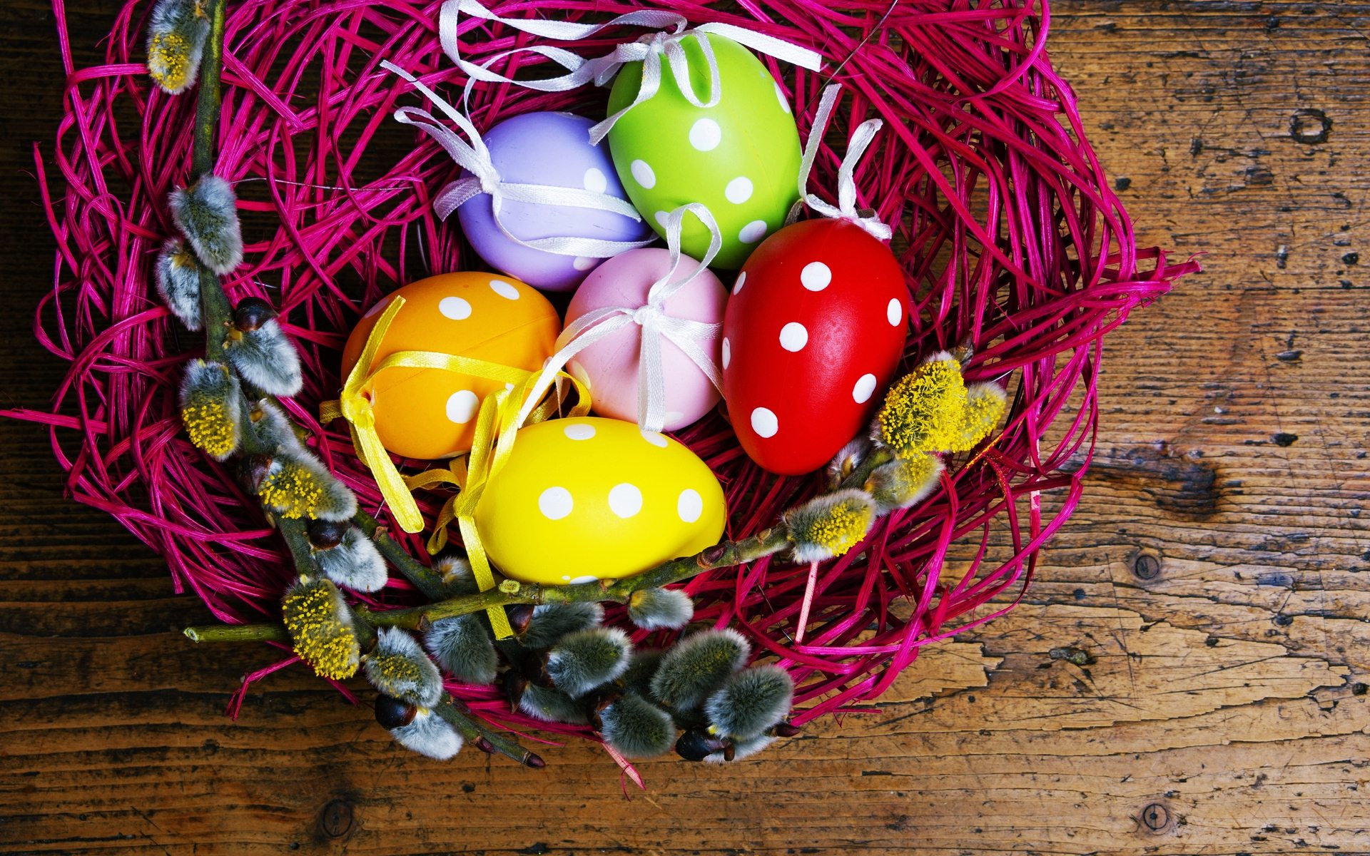 fantastic easter basket wallpaper 40395