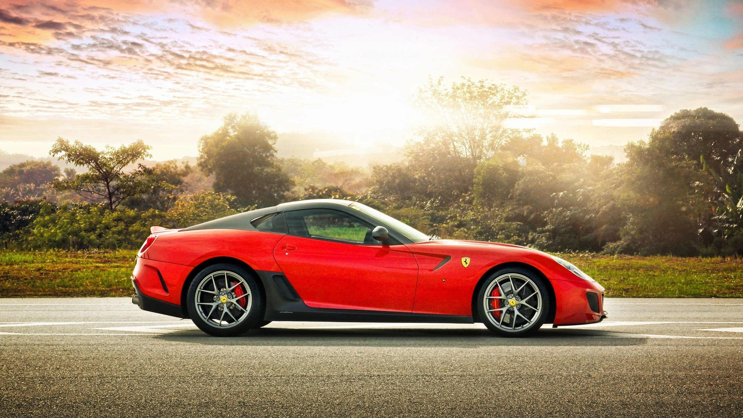 fantastic ferrari 599 wallpaper 40599