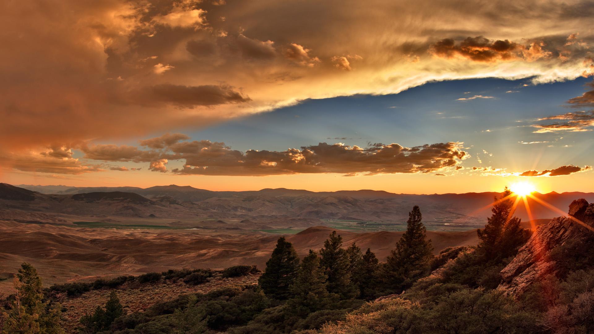 fantastic sunset wallpaper 44324