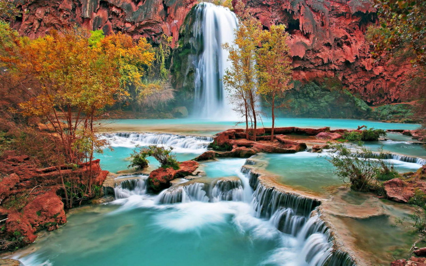 free waterfall wallpaper 19627