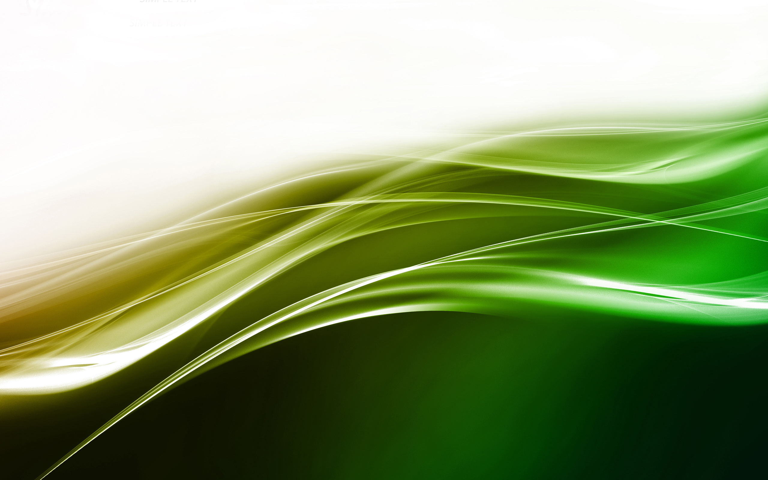 green abstract 27592