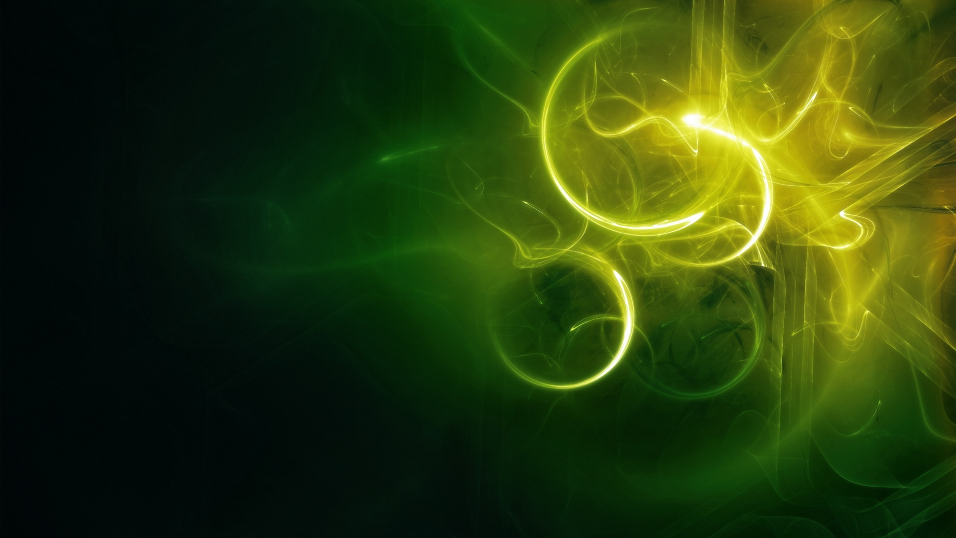 green abstract background 27602