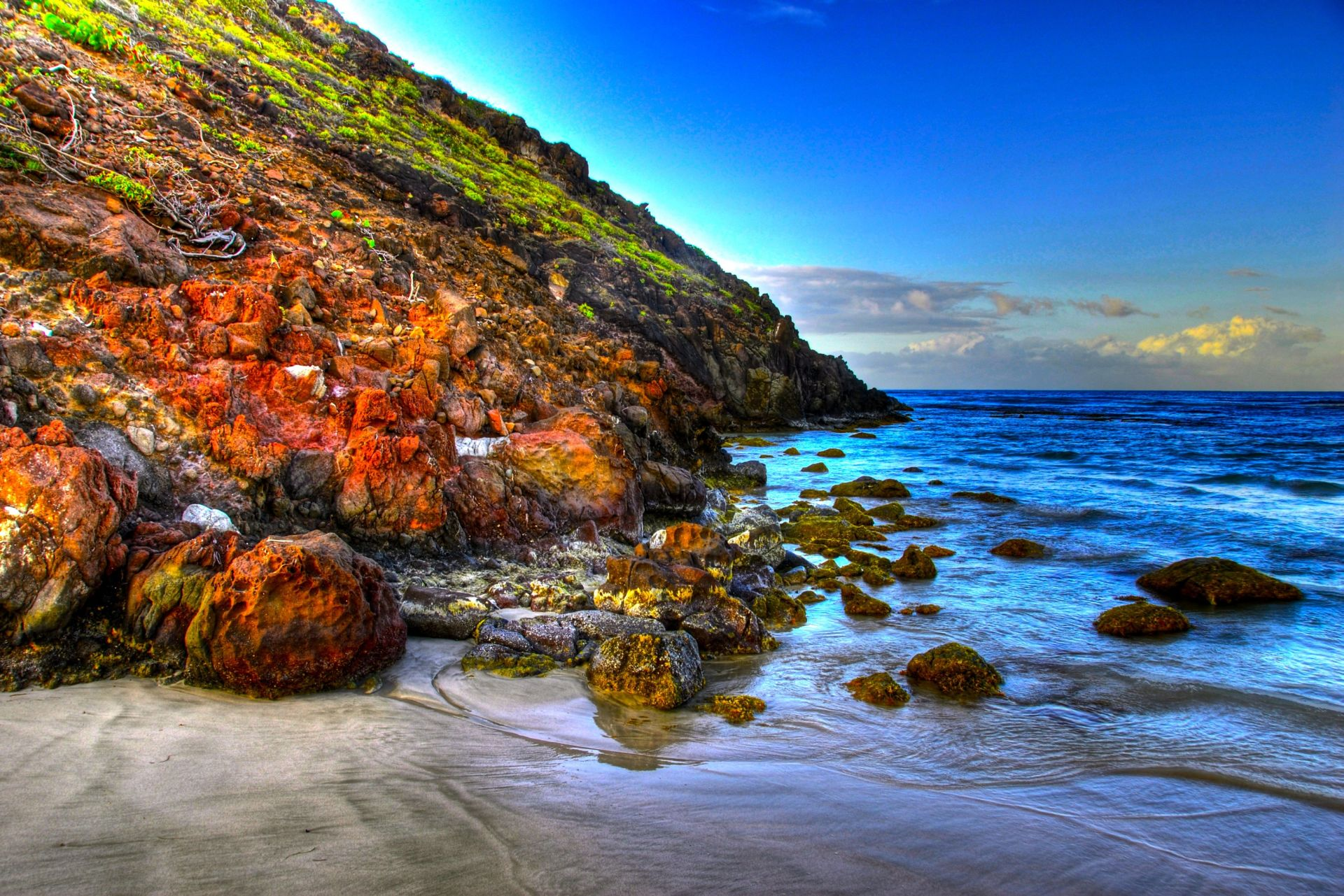 hdr beach wallpaper 38279