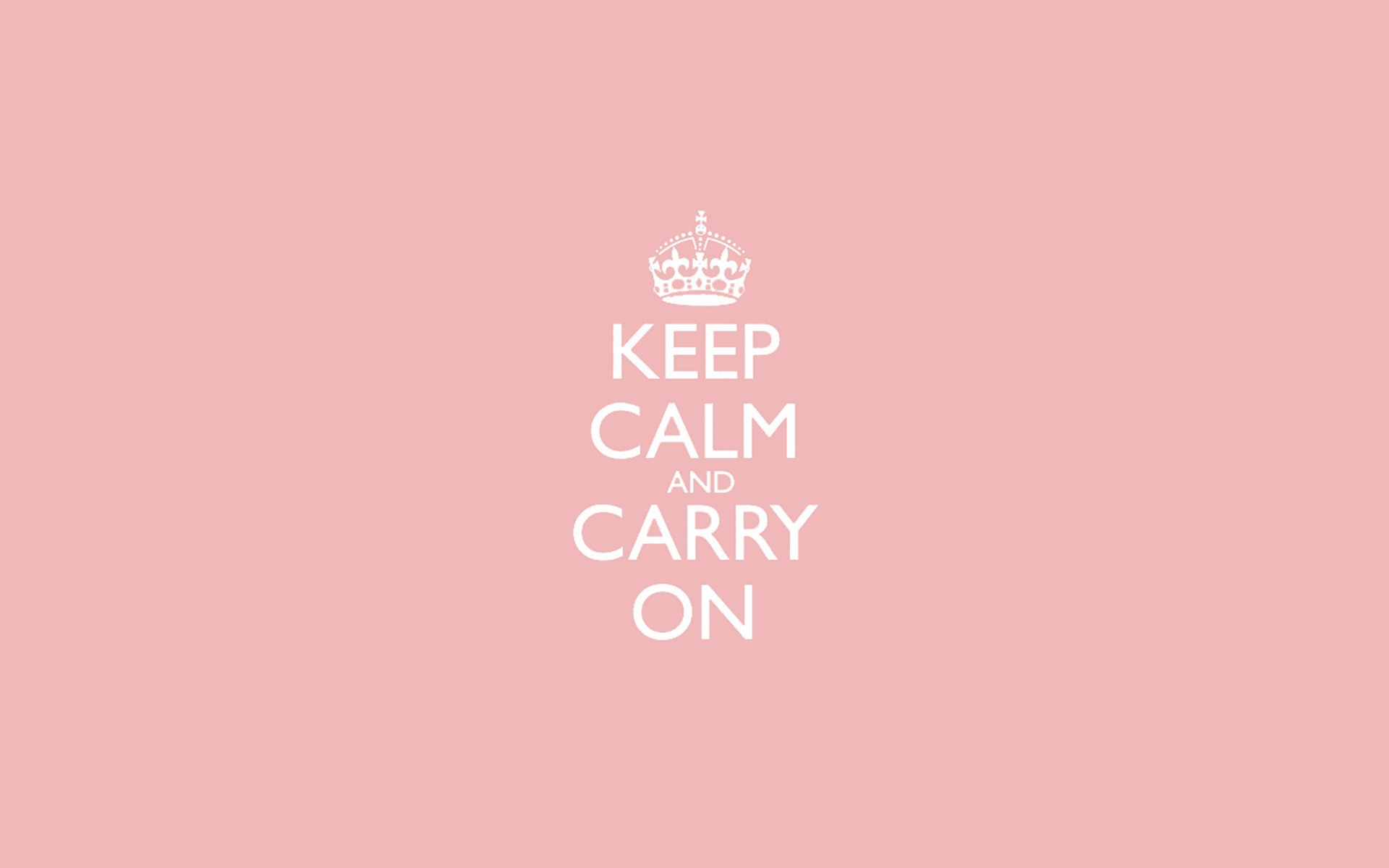 light pink keep calm and carry on wallpaper 7355