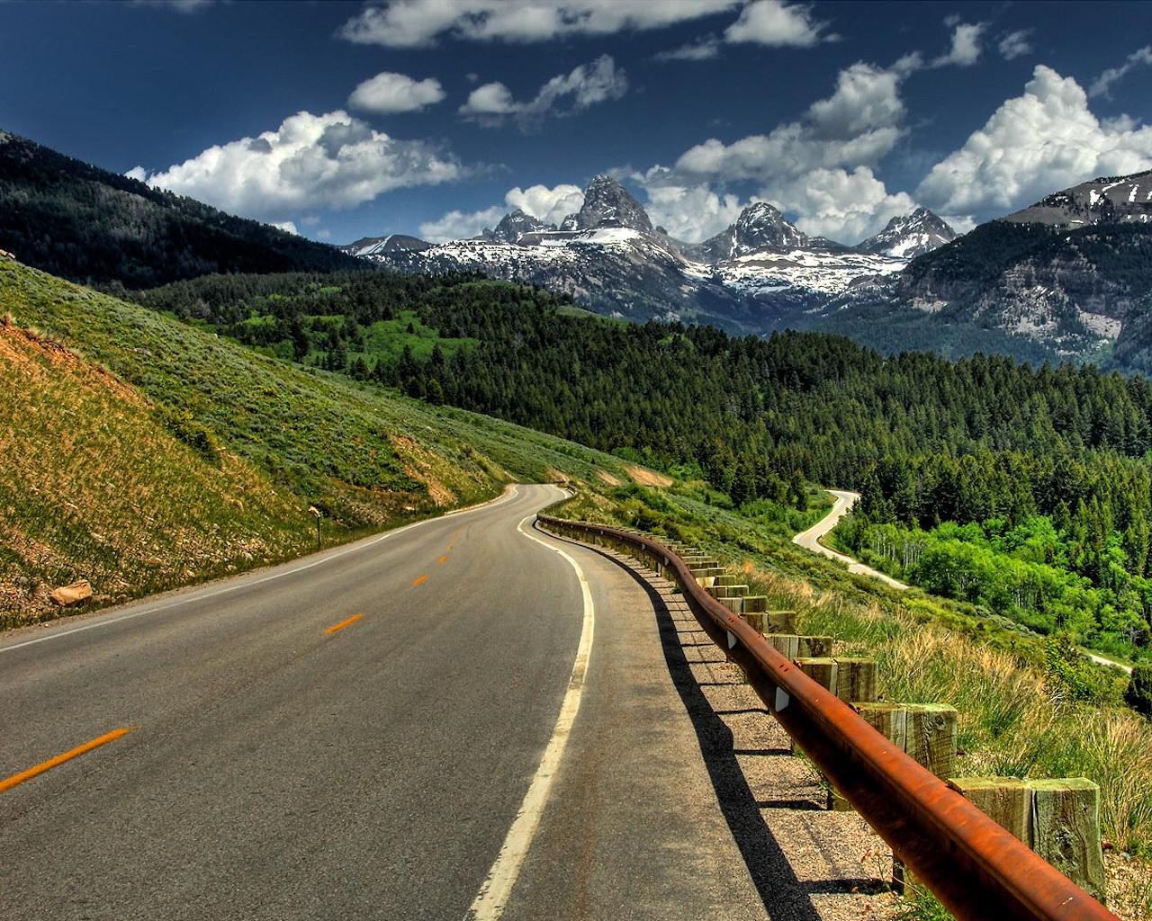 mountain road 37790 1280x1024px