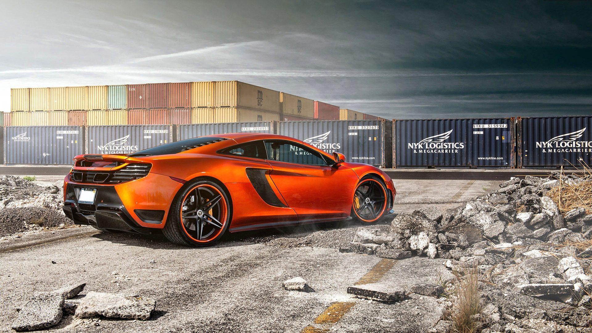 orange car wallpaper 32763