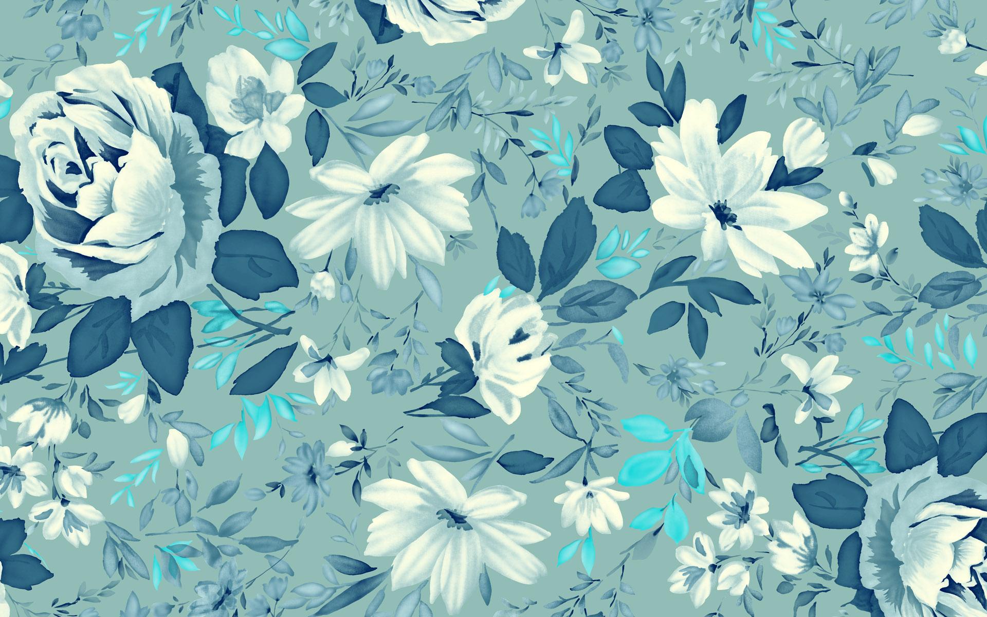 Tumblr Wallpaper Blue Pattern
