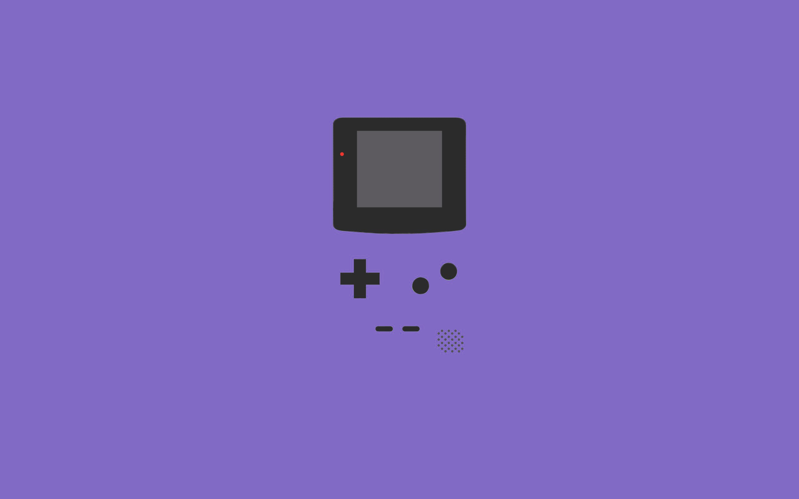 purple gameboy wallpaper 41557