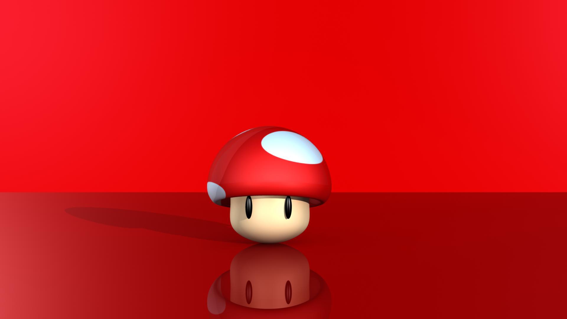red mario mushroom wallpaper 41955