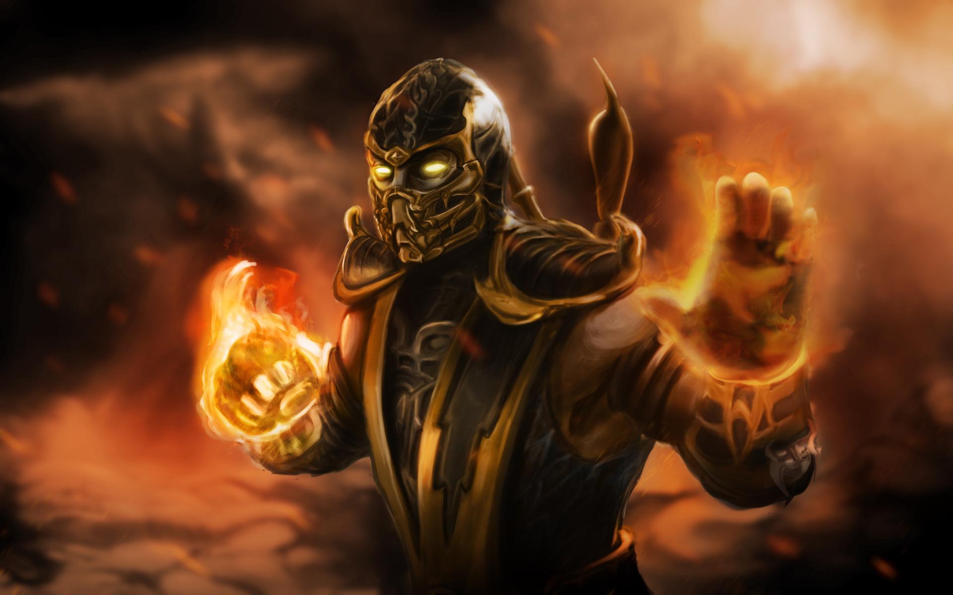 Scorpion Mortal Kombat 32729 1920x1200px