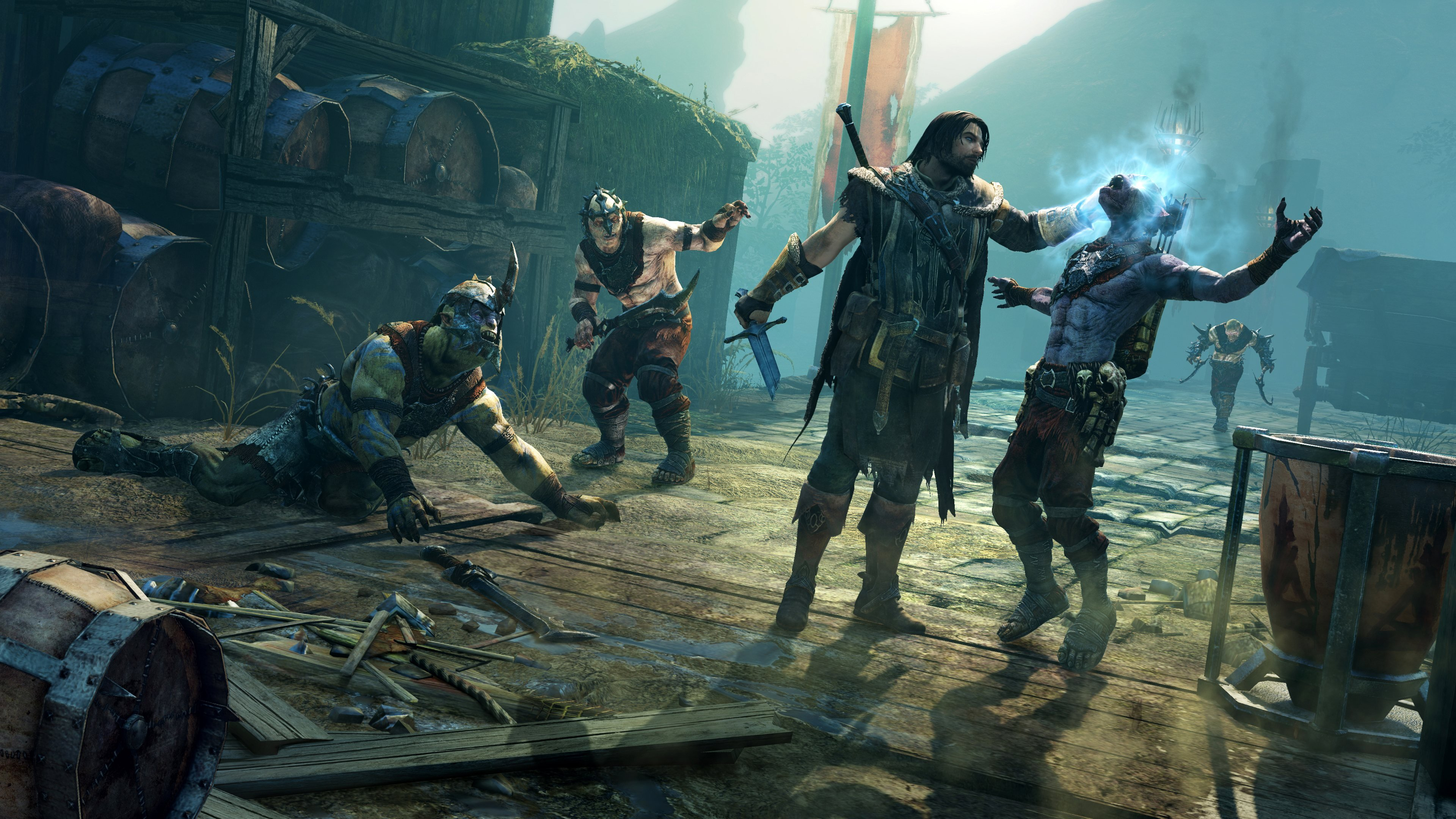 Download Shadow Of Mordor Background 40673 3840x2160 Px High