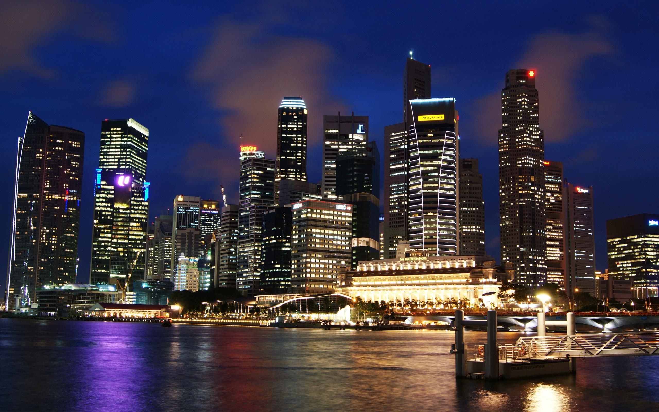 singapore skyline 30827