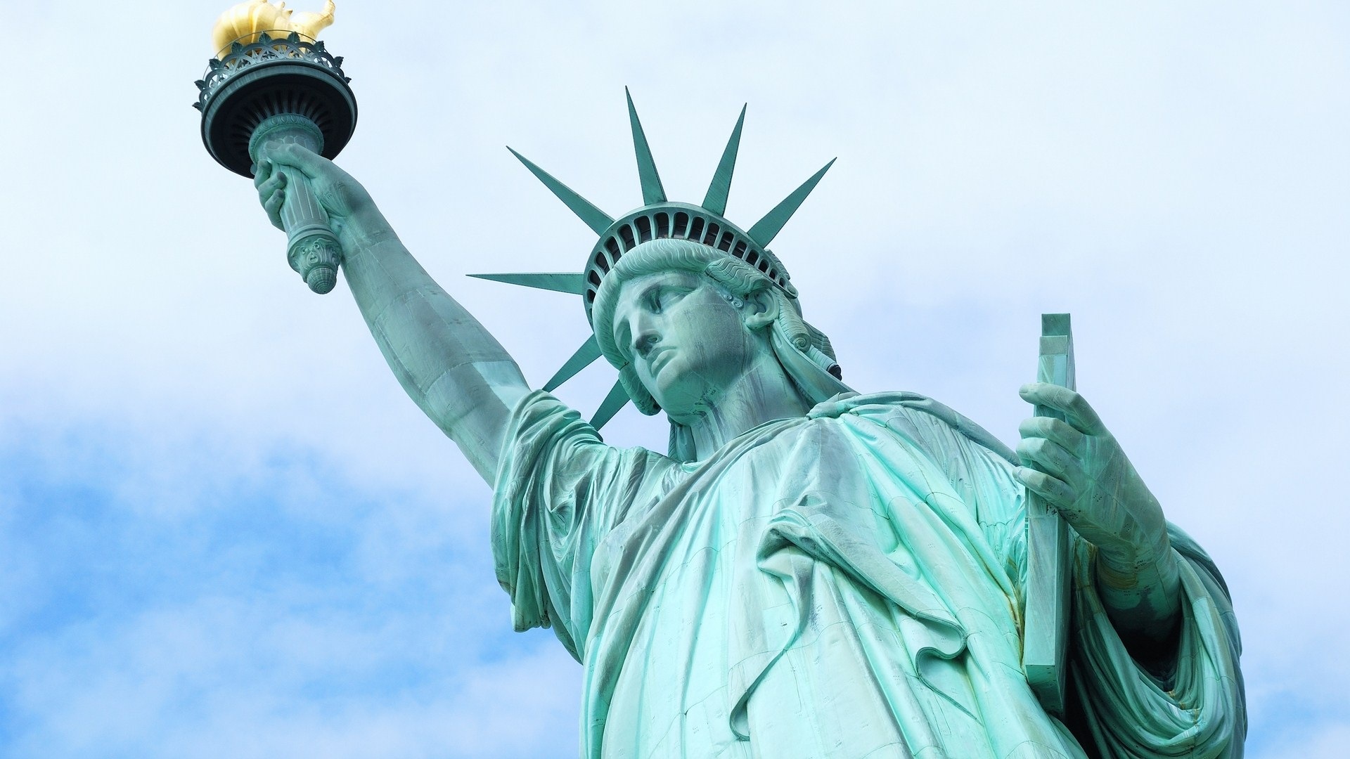 statue of liberty wallpaper 38293 1920x1080px