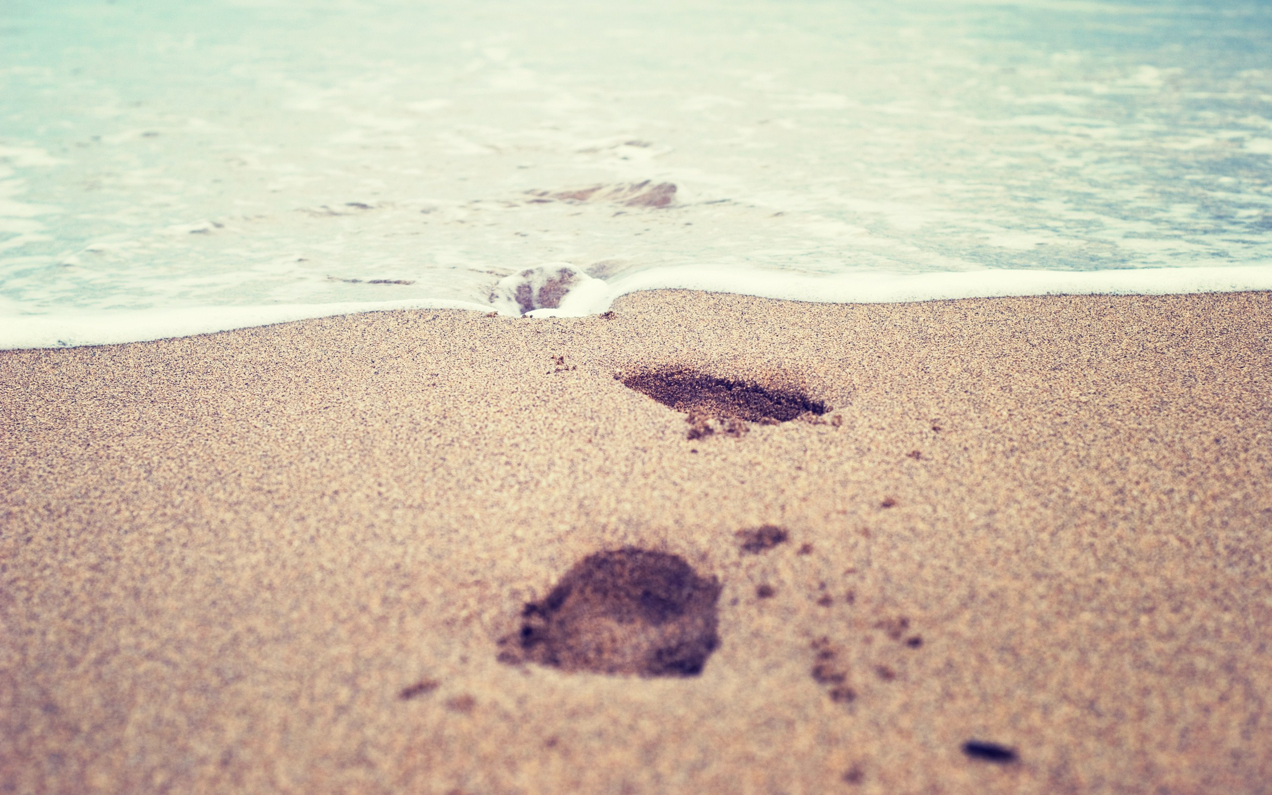 stunning footprints wallpaper hd 38249