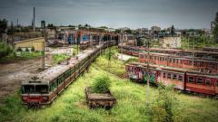 Abandoned Train Station Wallpaper 38791