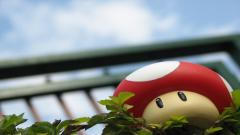 Awesome Mario Mushroom Wallpaper 41954