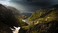 Awesome Mountain Road Wallpaper 37788