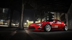 Awesome Red Toyota GT86 Wallpaper 43849