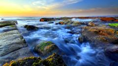 Awesome Rocky Shore Wallpaper 33981