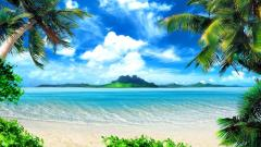 Beach Background 17585