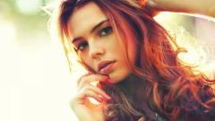 Beautiful Red Hair Wallpaper 35150