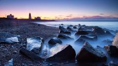 Beautiful Rocky Shore Wallpaper 33960