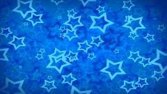 Blue Star Background 19047