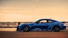 Blue Toyota GT86 Wallpaper 43847