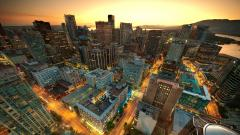 Canada City Wallpaper Background 22653