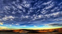 Cloudy Sky Landscape 33827