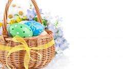 Cute Easter Basket Wallpaper 40393