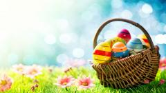 Easter Basket Wallpaper 40396