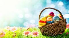 Easter Basket Wallpaper 40396