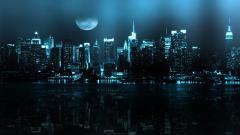 Fantasy Night Cityscape 20881