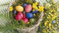 Free Easter Basket Wallpaper 40394