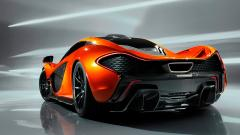 Free Orange Car Wallpaper 32753