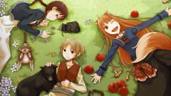 Free Spice And Wolf Wallpaper 20419