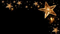 Gold Star Background 19048
