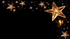 Gold Star Background 19048