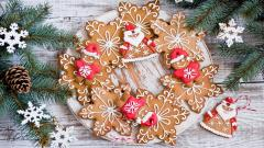 Holiday Pastries Wallpaper 40242