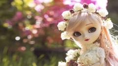 Lovely Toy Doll Wallpaper 42439