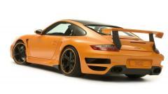 Orange Car 32743