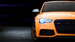 Orange Car 32748
