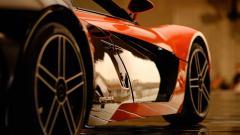 Orange Car 32760